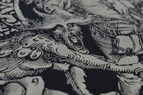 "Image of ""Patricide"" Black Crewneck Sweatshirt"
