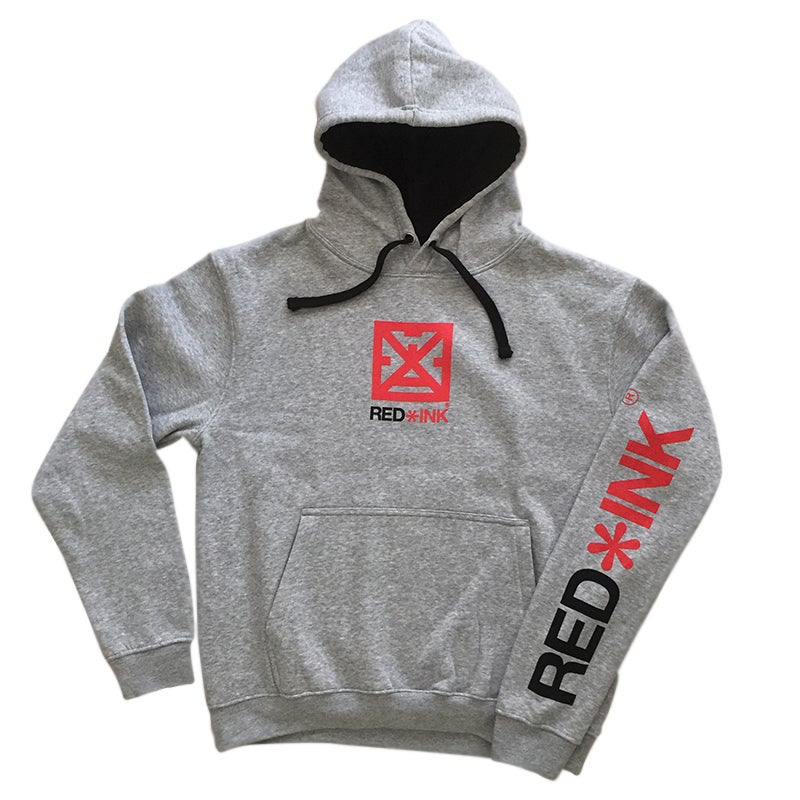 "Image of SUDADERA GRIS UNISEX ""STRONG"""