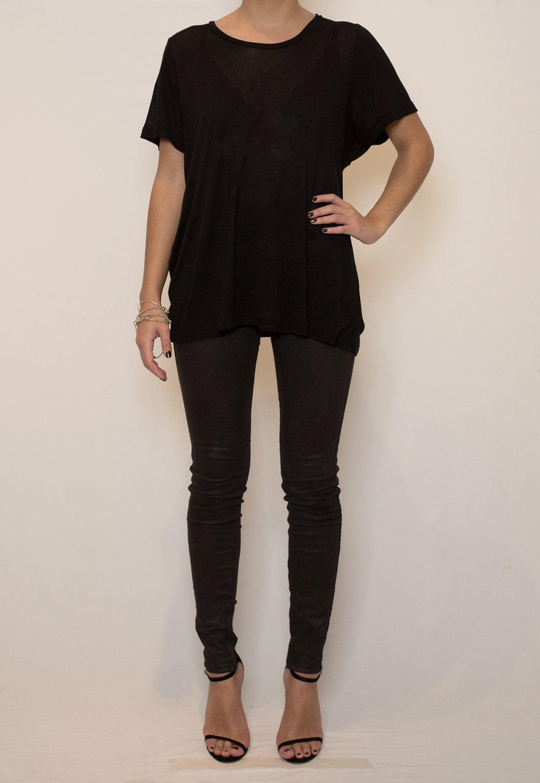 Image of Basic Oversize tee - Black