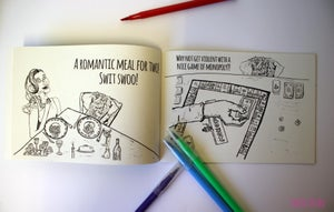 Image of Spicebag Colouring book!