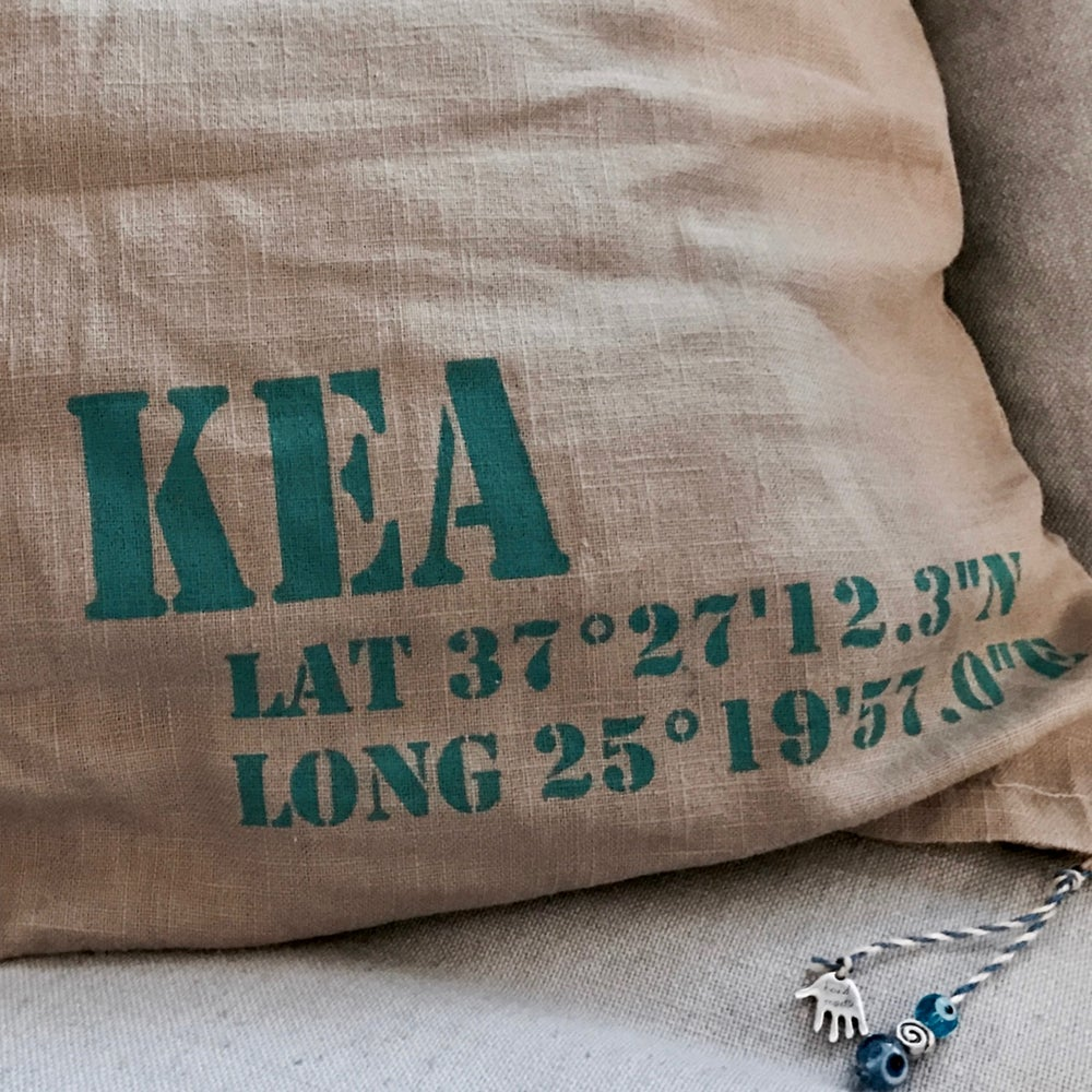 Image of anamnistiko cushion cover linen