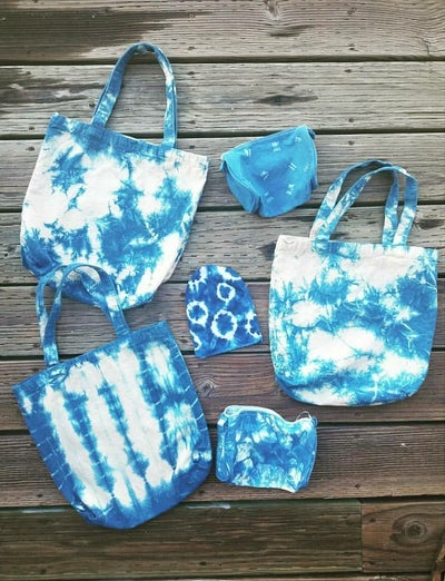 Image of May 9th Evening Family Shibori Workshop at Tantrum (248 Clement Street)
