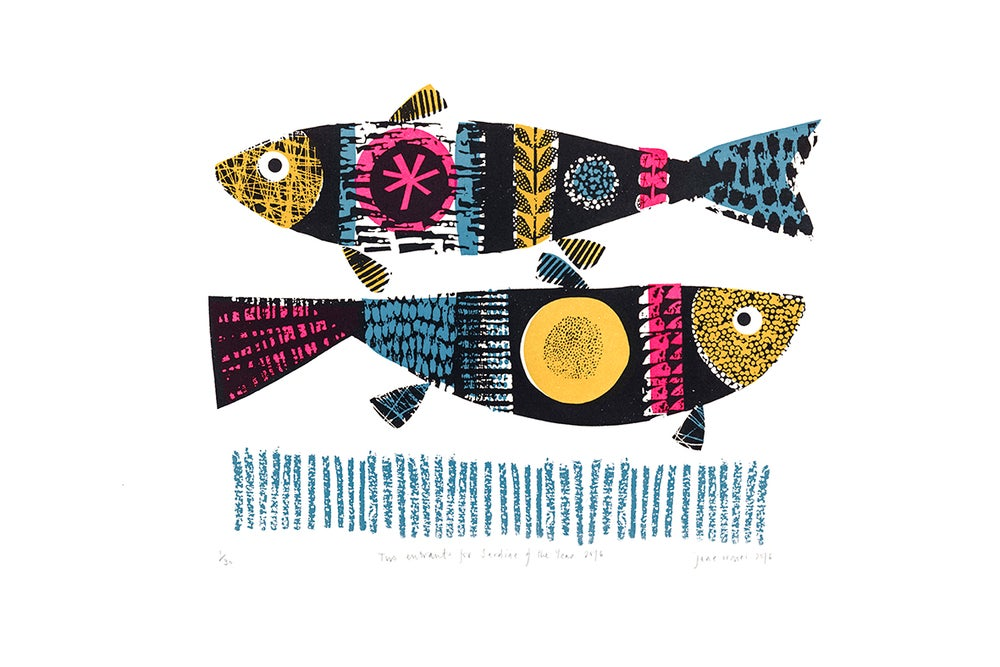 Image of Two entrants for Sardine of the Year 2016