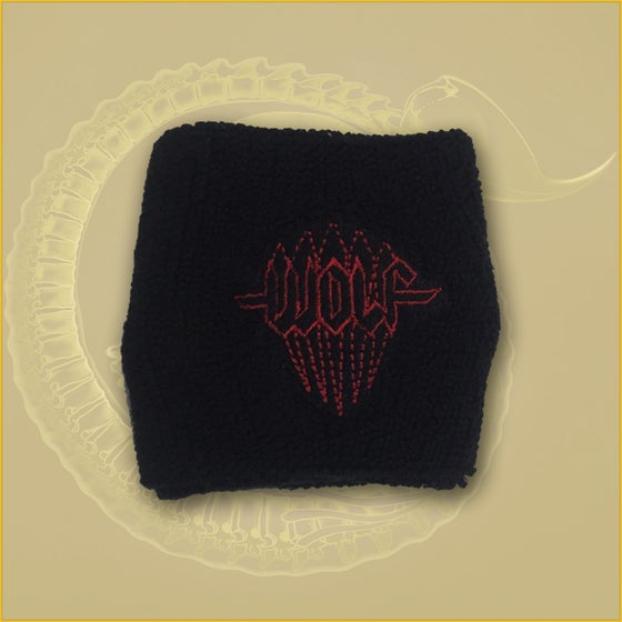 Image of Wristband embroidered logo