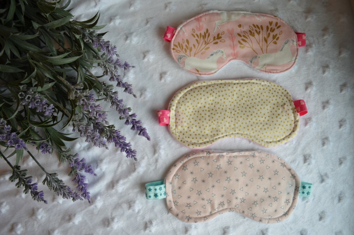 Image of Glitter Sleep Masks