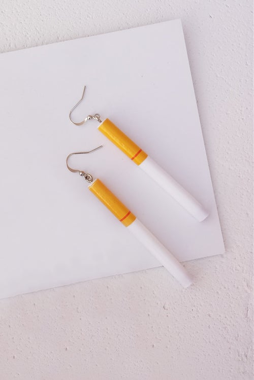 Image of CIGARETTE EARRINGS