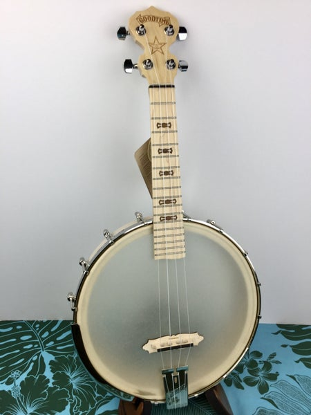 Image of Deering Goodtime Concert Banjo Ukulele (CASE & INCLUDED)