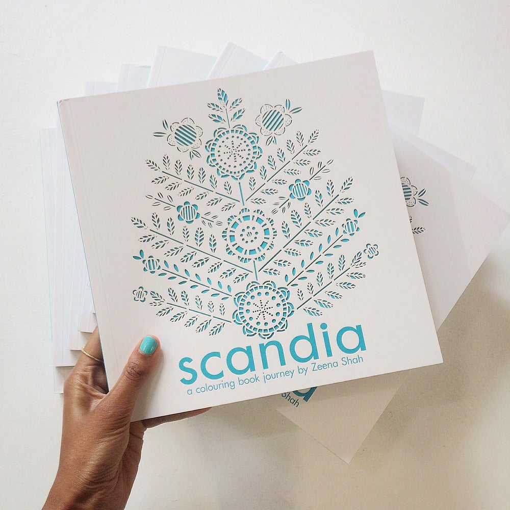 Image of Scandia - A Colouring Journey