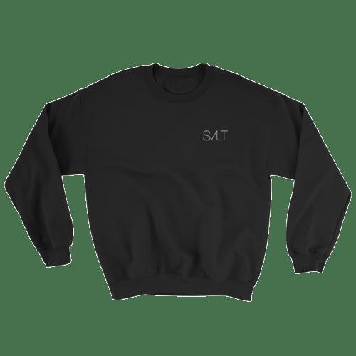 Image of Black Salt Crew Neck Sweatshirt