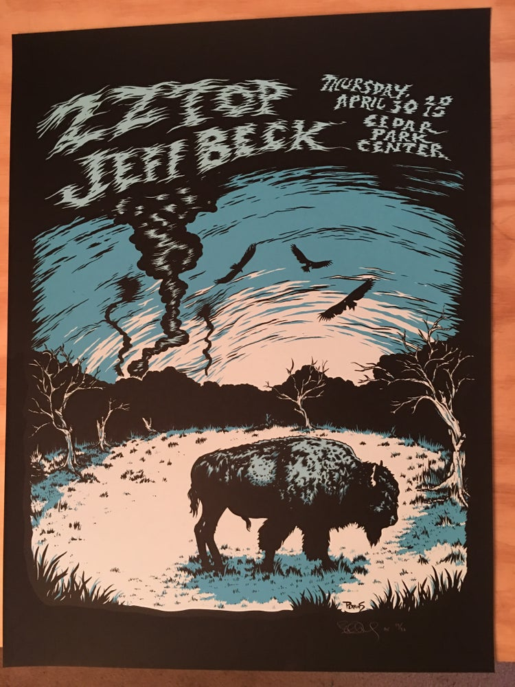 Image of ZZ Top and Jeff Beck - Austin 2015