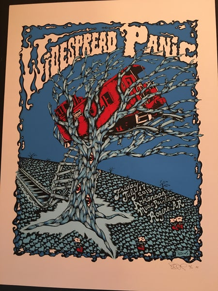 Image of Widespread Panic - Arkansas 2015