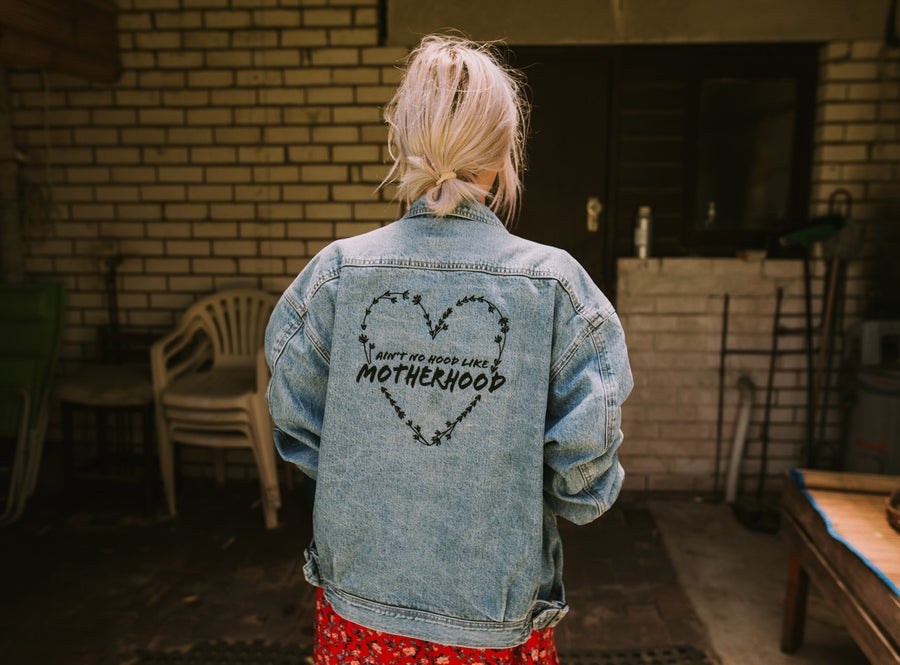Image of Motherhood Preloved Denim Jacket