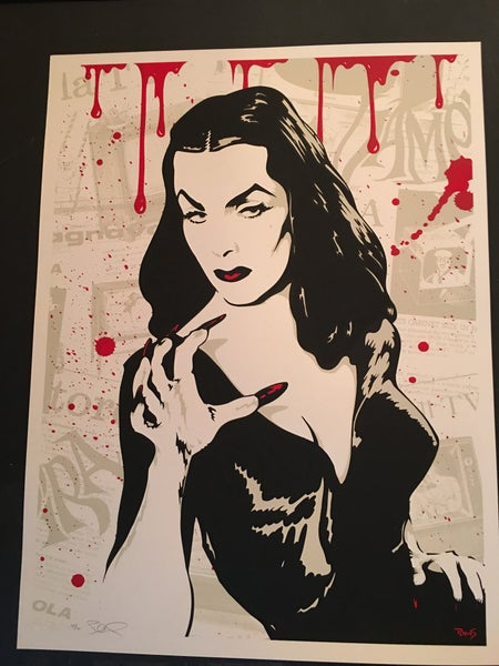 Image of Vampira - Art print