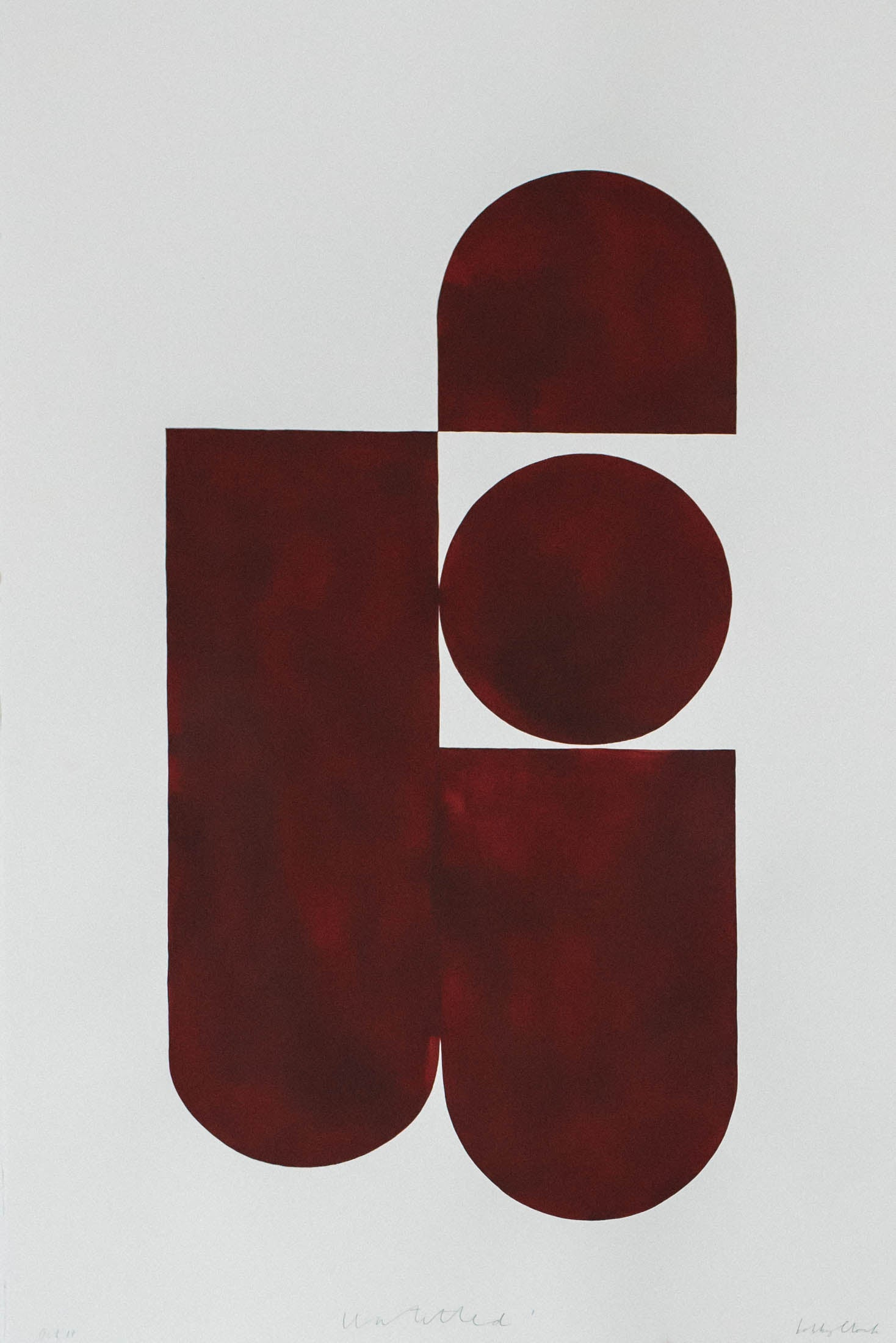 Image of 'Untitled' Burgundy