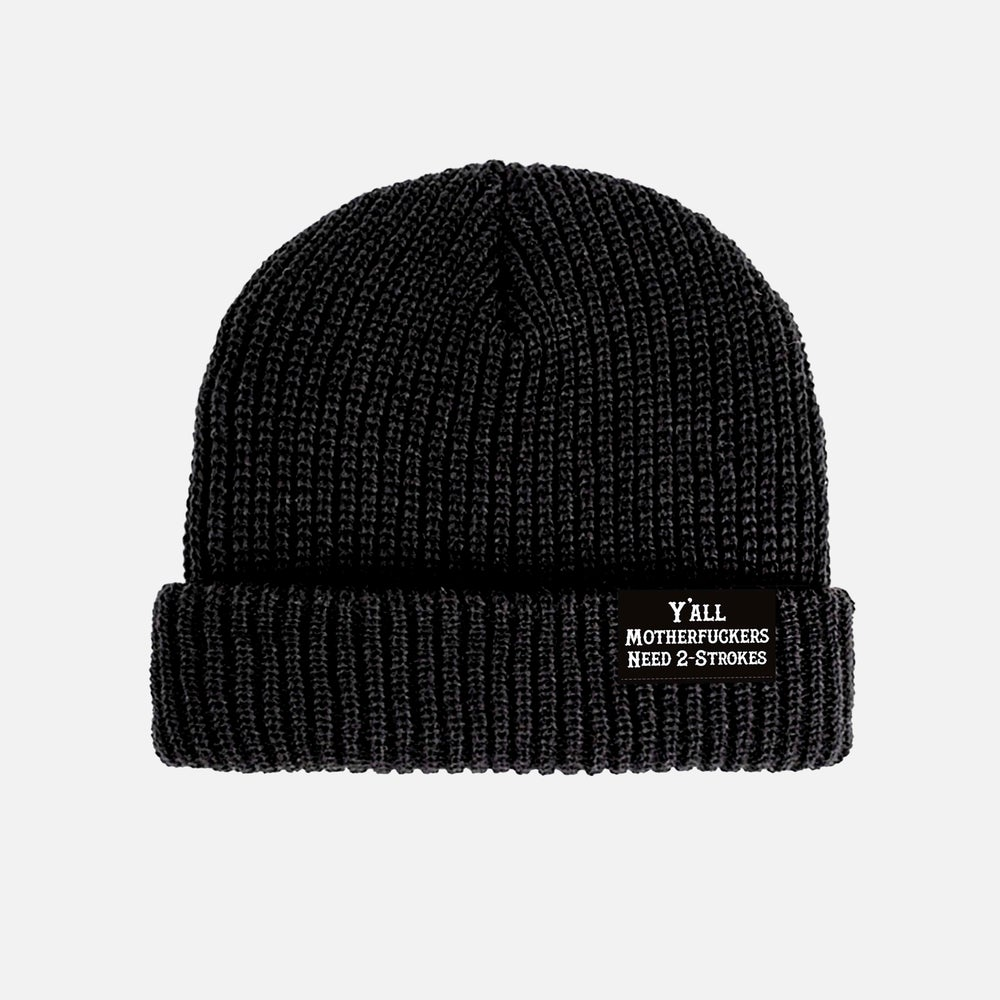 Image of Y'ALL NEED 2-STROKES BEANIE