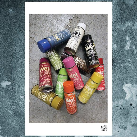 Image of Wet Look poster print