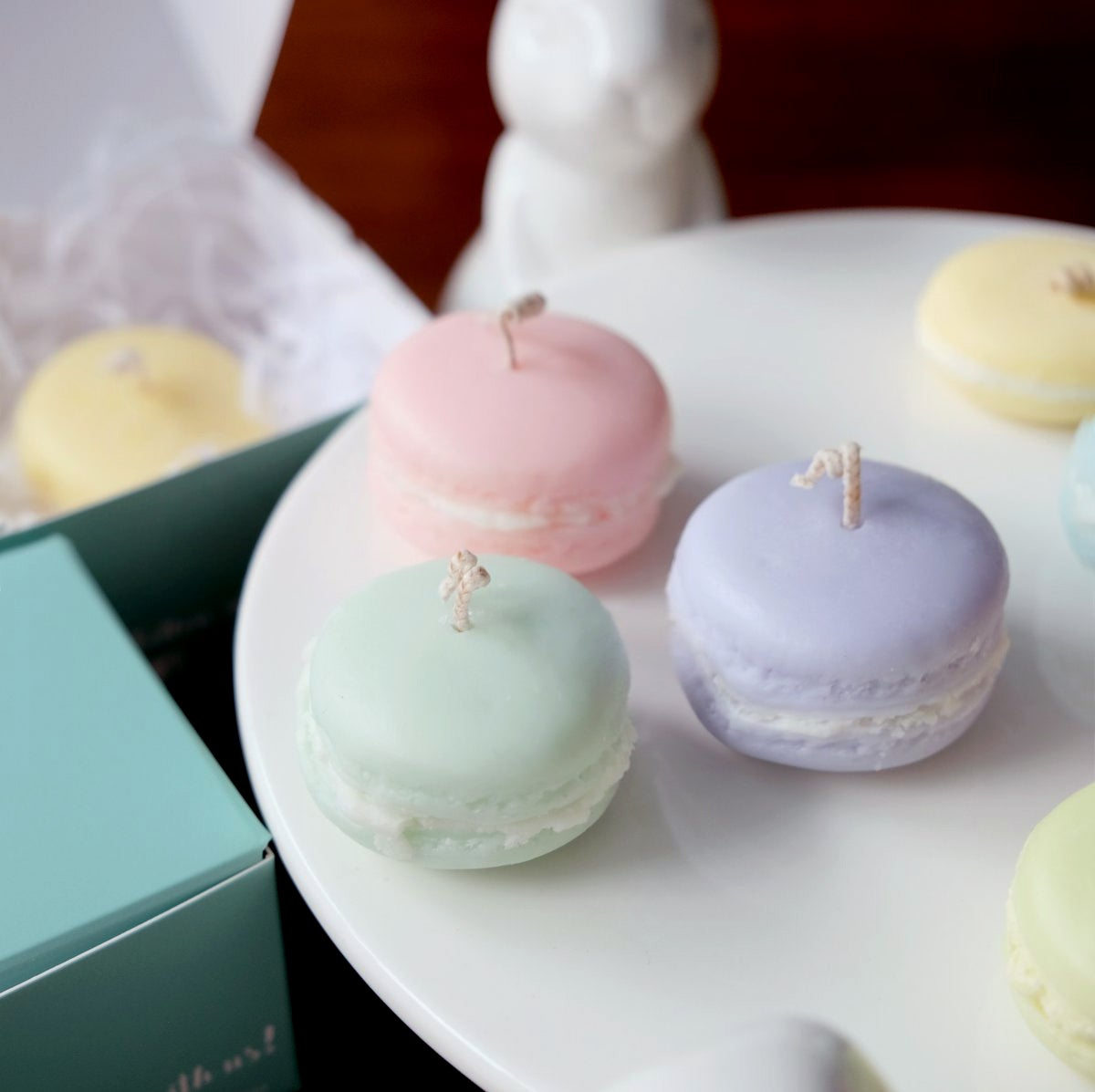 Image of Scented Macaroon Candles