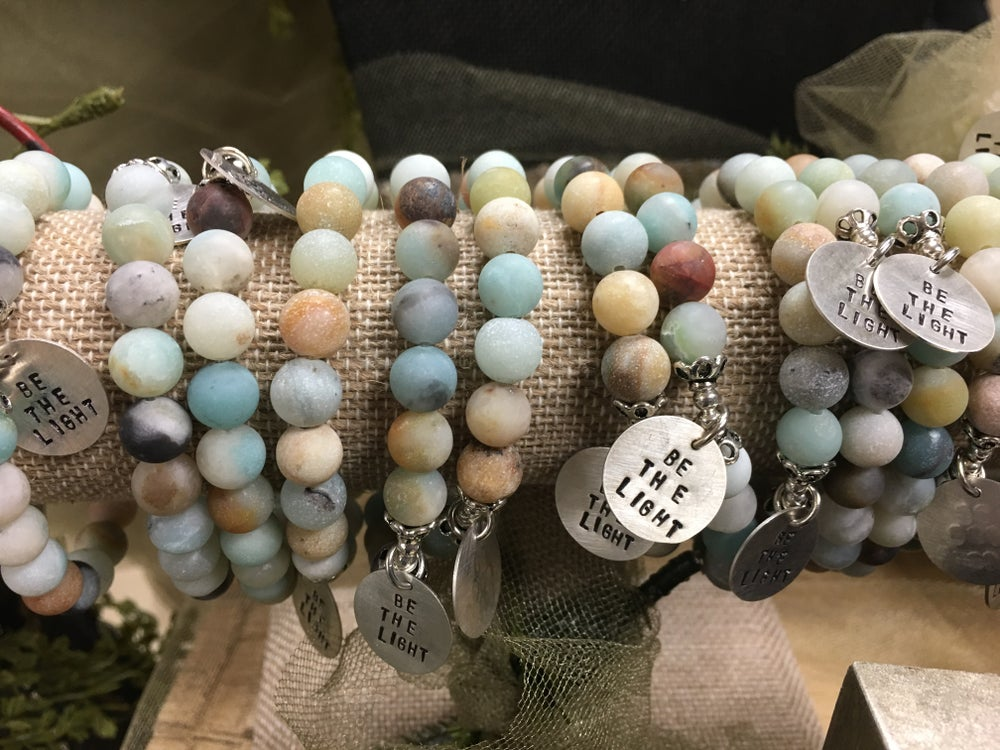 "Image of Amazonite ""Be the Light"" Bracelet"