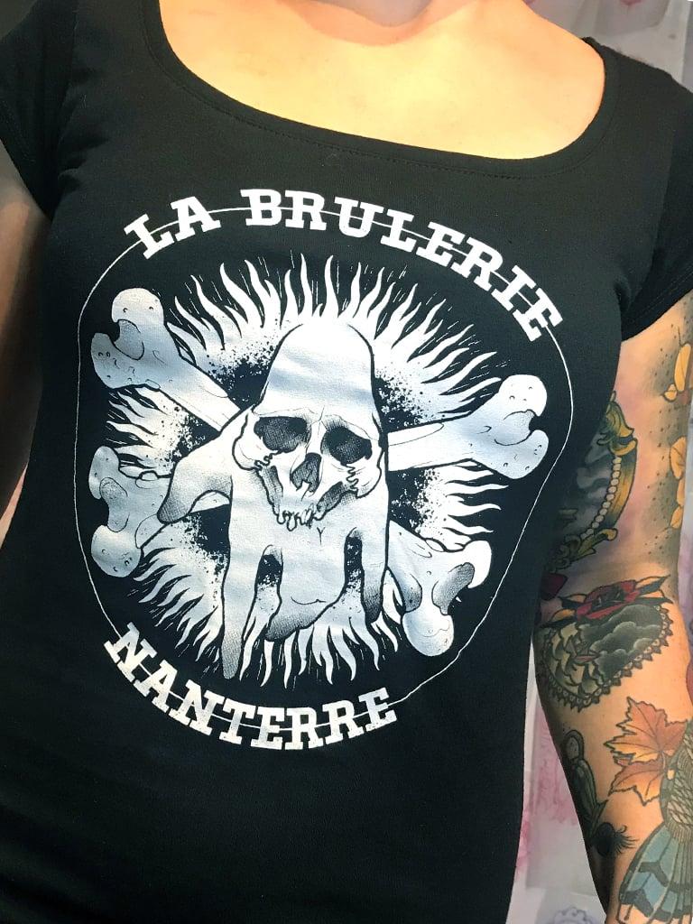 Image of Tee-Shirt pour femme La Brûlerie