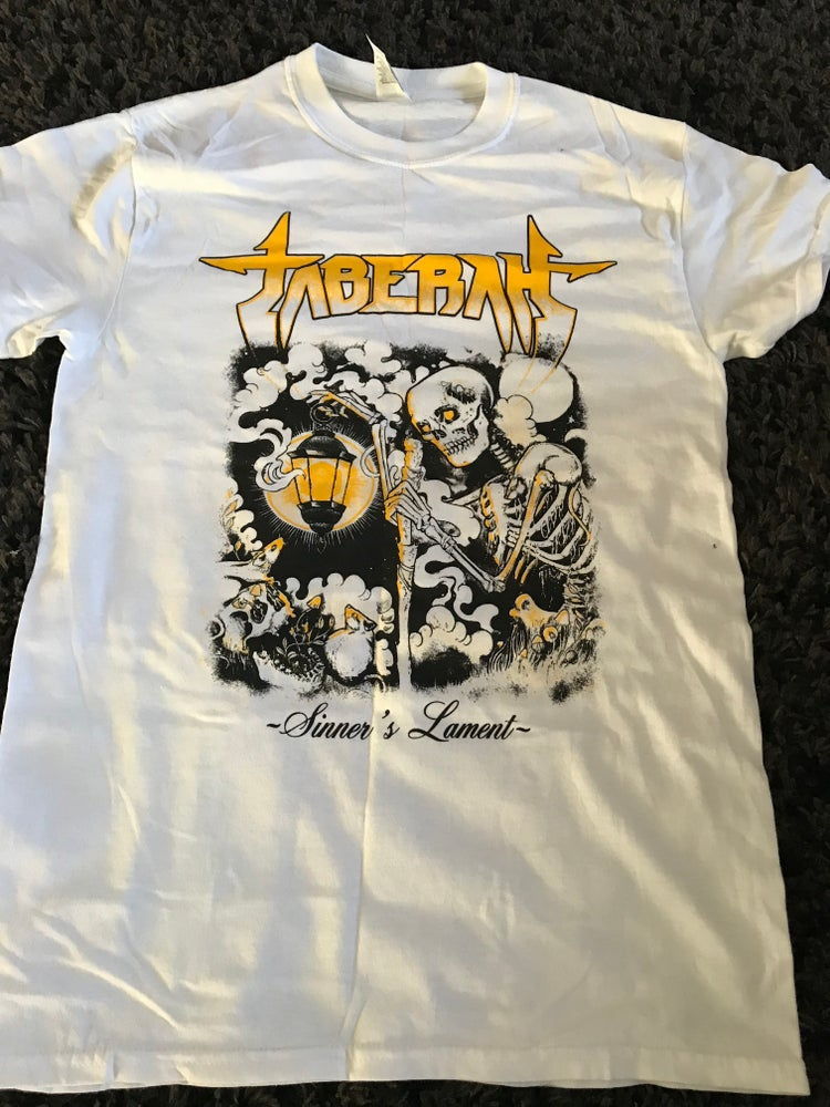 Image of Sinner's Lament T-Shirt WHITE