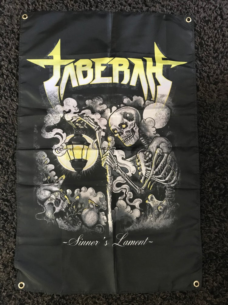 Image of Sinner's Lament Poster Flag