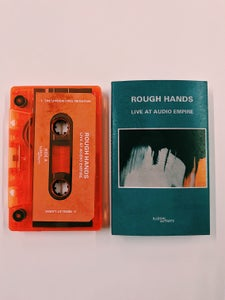 Image of Rough Hands - 'Live at Audio Empire' Orange Cassette