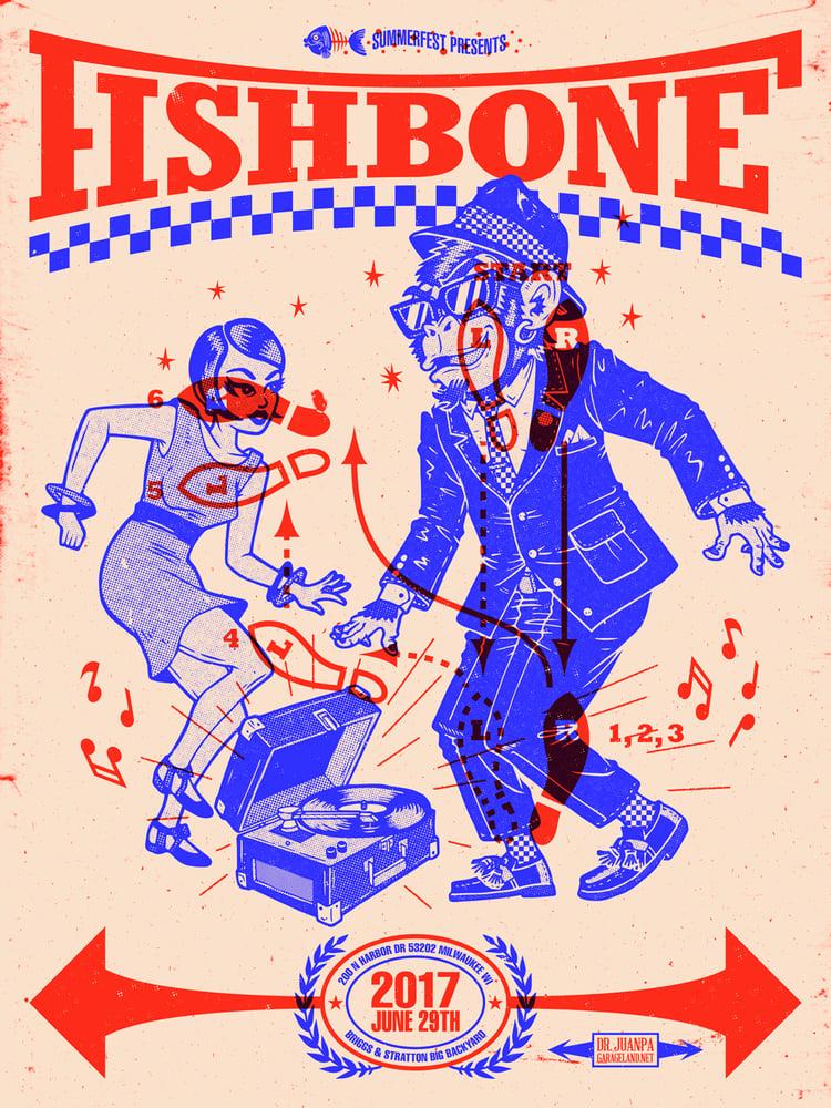 Image of Fishbone Poster (Regular)