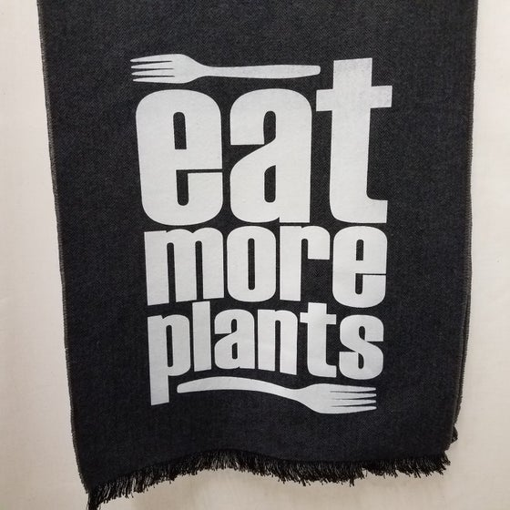 Image of Eat More Plants scarf