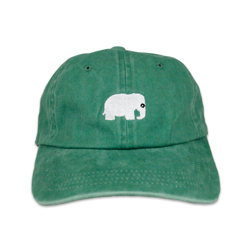 Image of Elephant Polo Hat (Vintage Kelly Green)