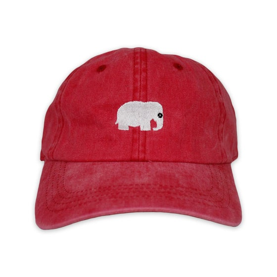 Image of Elephant Polo Hat (Vintage Red)