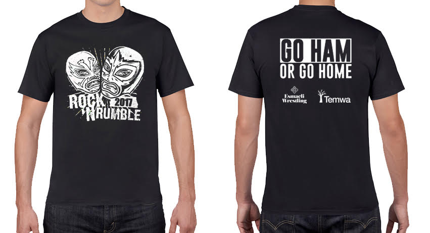 Image of Rock 'N Rumble t-shirt