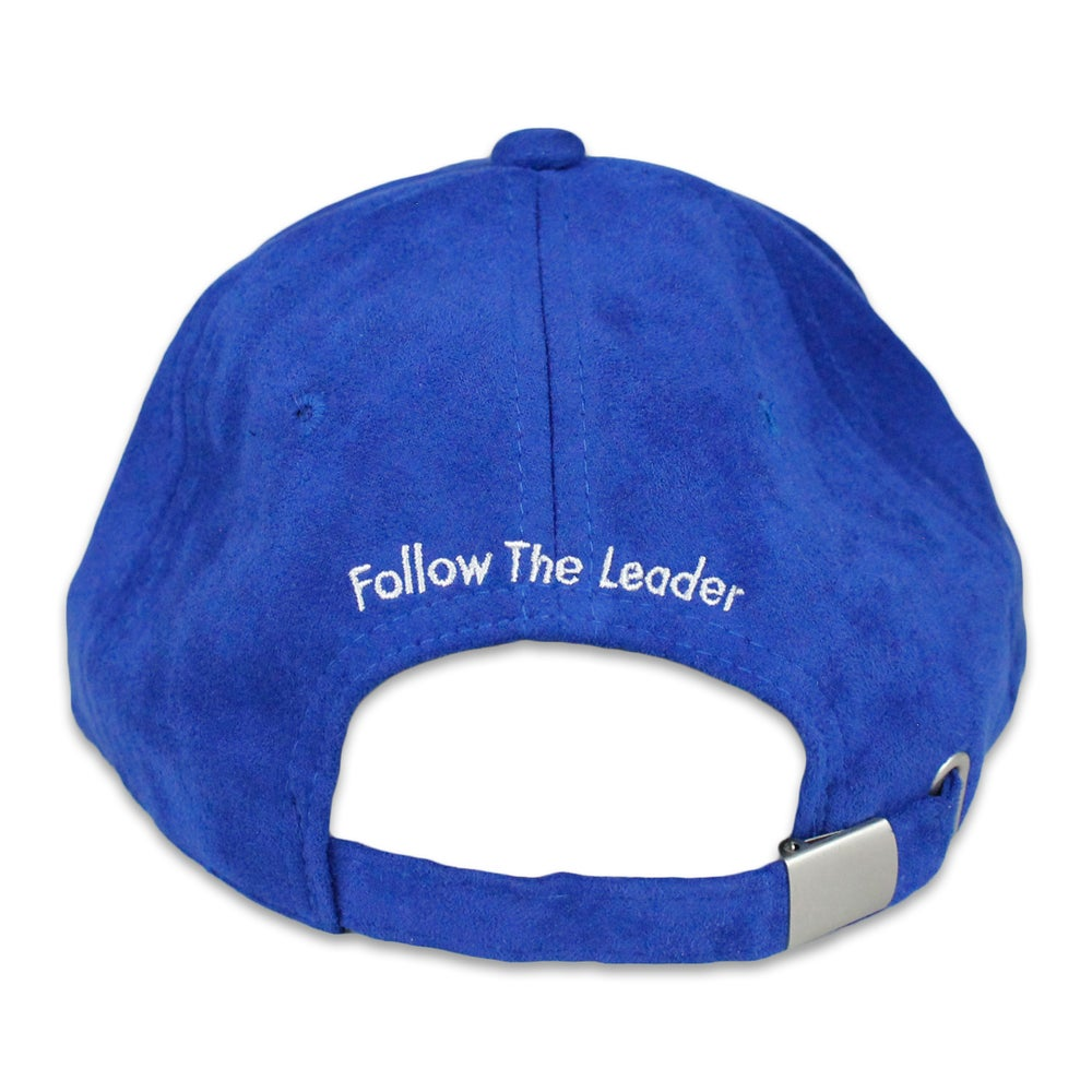 Image of F Suede Hat (Royal)