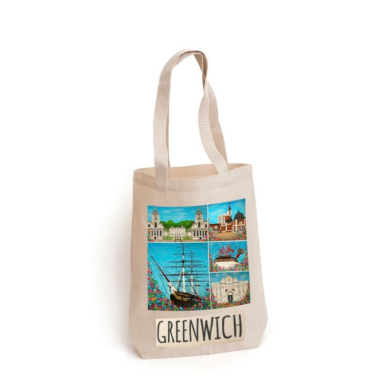 Image of Greenwich Mementos of Home Tote Bag