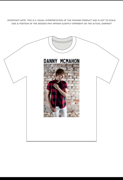 Image of Danny McMahon EP T-shirt