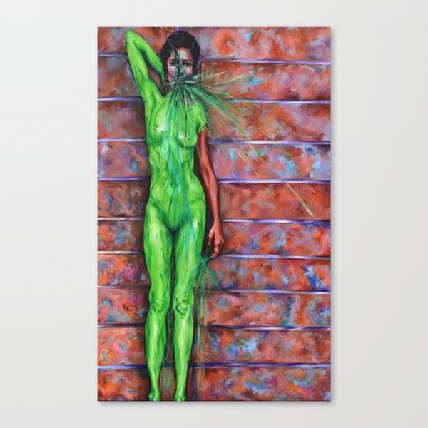 Image of Verde Aura Original Painting