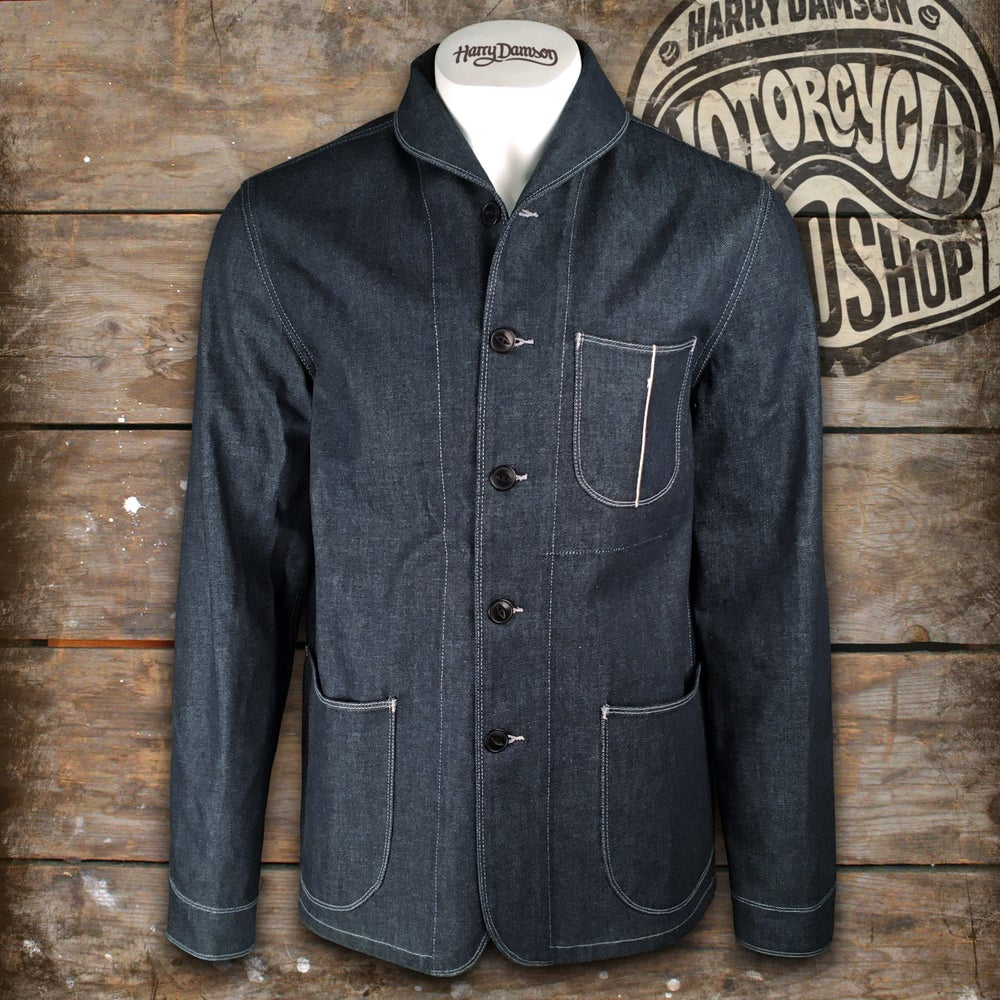 Image of FIT & CRAFT COVERALL DENIM JACKET