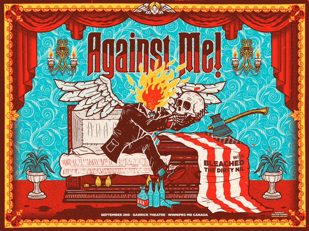 Image of Against Me! Poster (Regular)