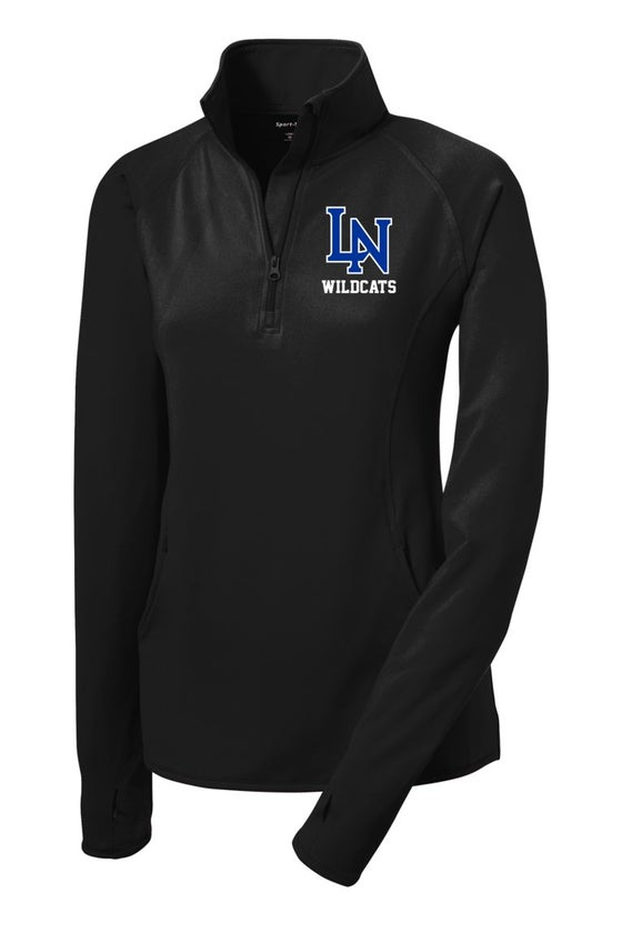 Image of Ladies Sportwick Quarter Zip Pullover -