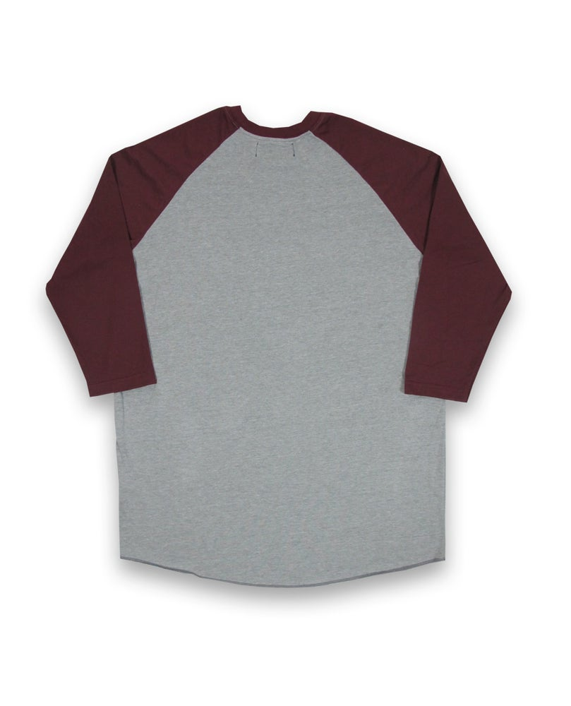Image of Burgundy Raglan