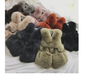 Image of Exotic Fox Fur Vest