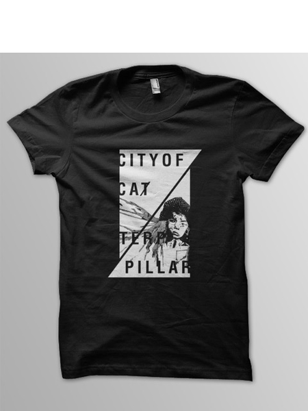 "Image of City of Caterpillar ""Face"" T-Shirt"