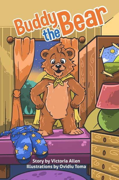 Image of Buddy the Bear - Hardcover