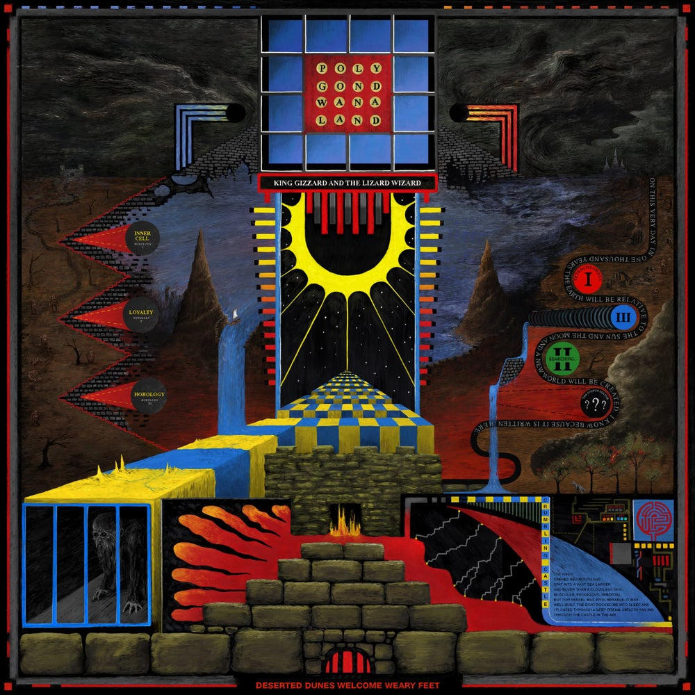 Image of King Gizzard And The Lizard Wizard - Polygondwanaland