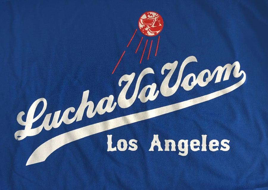 Image of Lucha VaVOOM Ballgame shirt