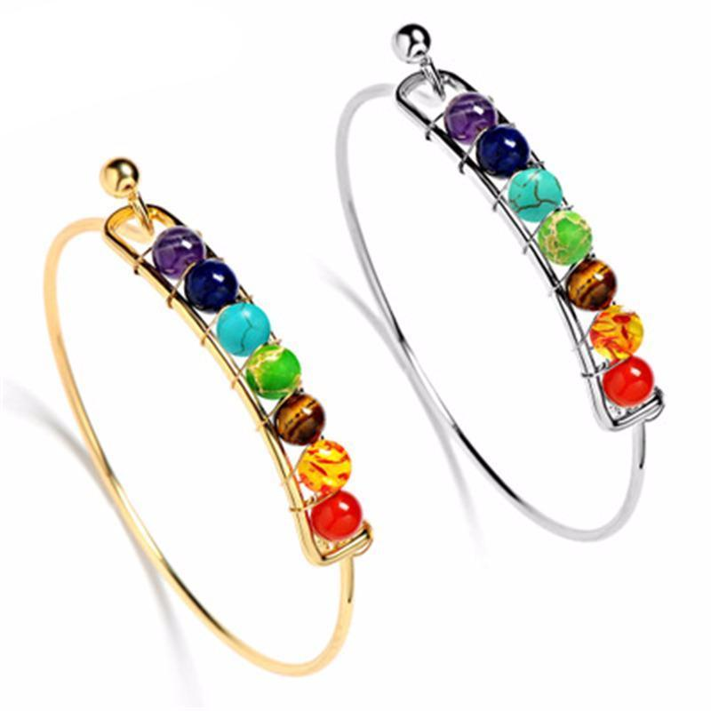 Image of QUEEN OF GOOD VIBES Chakra Bangle