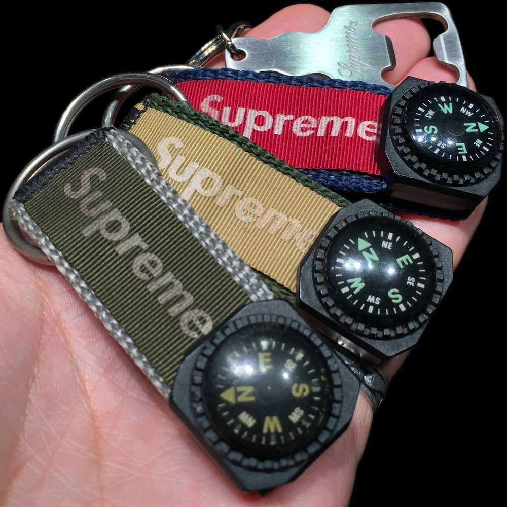 Image of 2007 Compass Holder Keychain