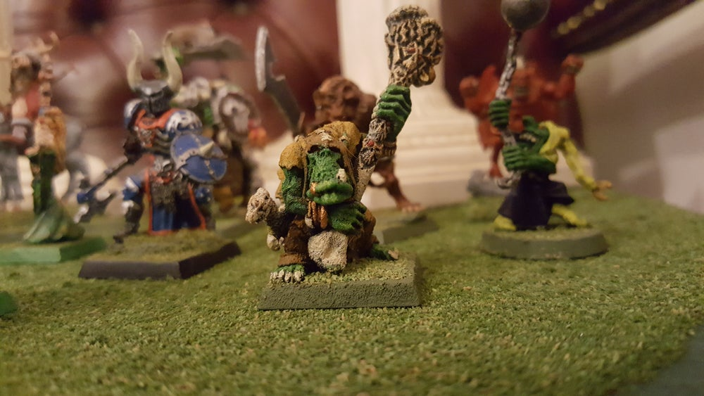 Image of Orc Shaman Miniature