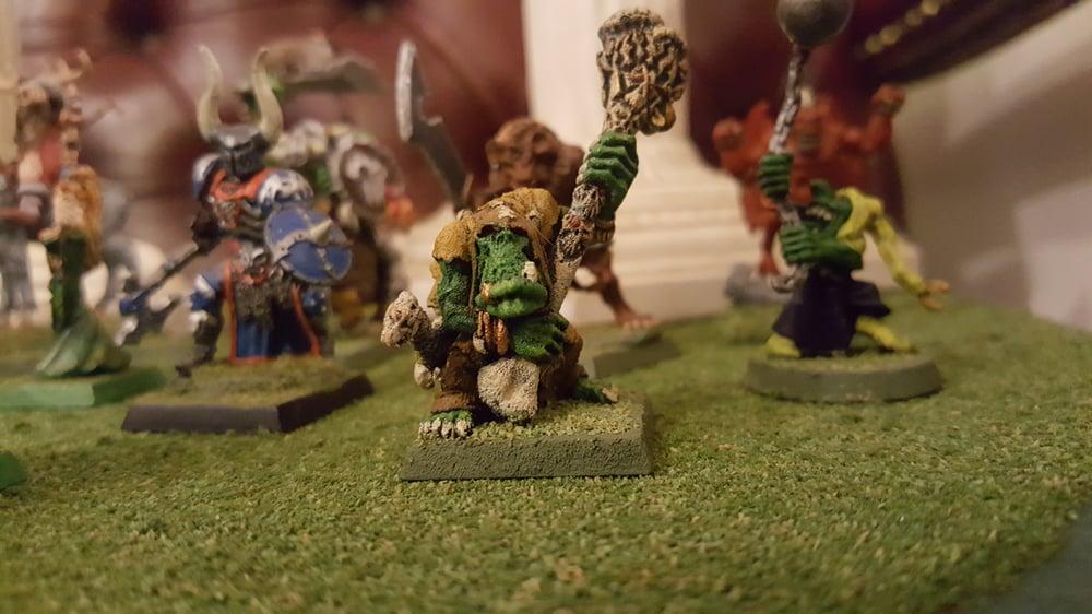 Image of Orc Shaman Miniature