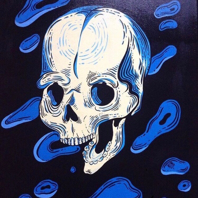 Image of True Blue by Tambra Parsons - Original Art