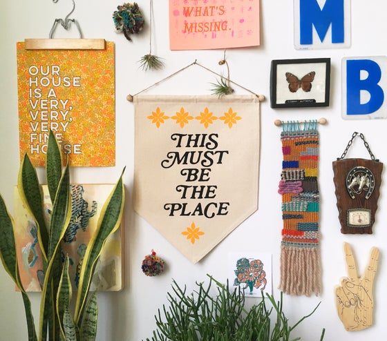 Image of This Must Be the Place- Wall Banner